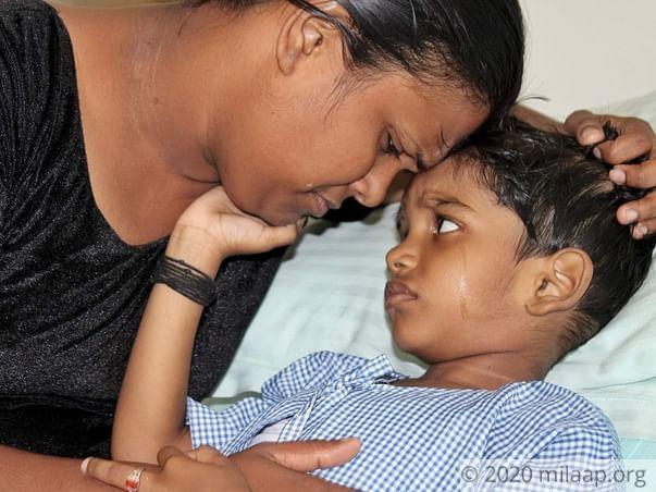 Help Ishaan Undergo A Bone Marrow Transplant