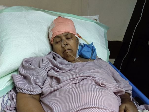 Help My Mother To Fight Brain Hemorrhage