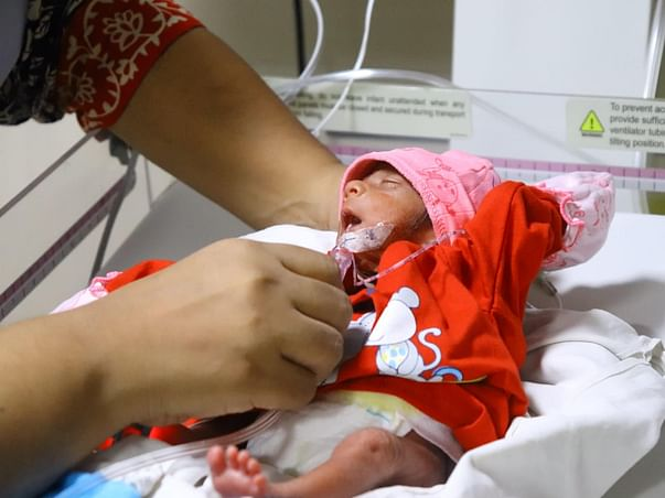 Help Baby of Suman Recover
