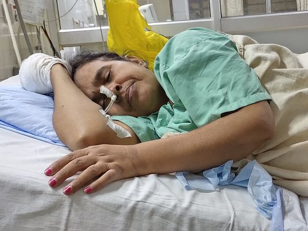 Support Usha Singh Recover From Brain Tumor