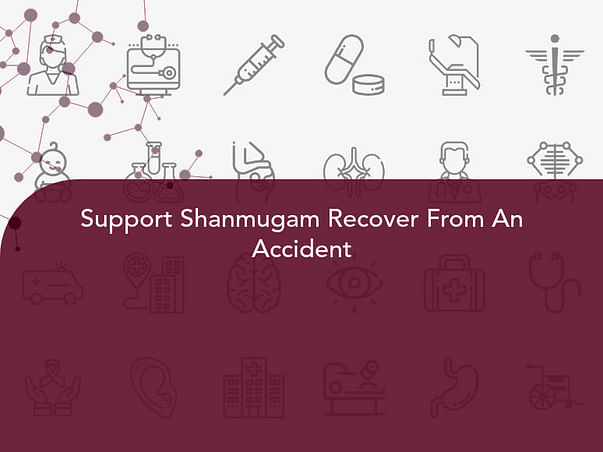 Support Shanmugam Recover From An Accident