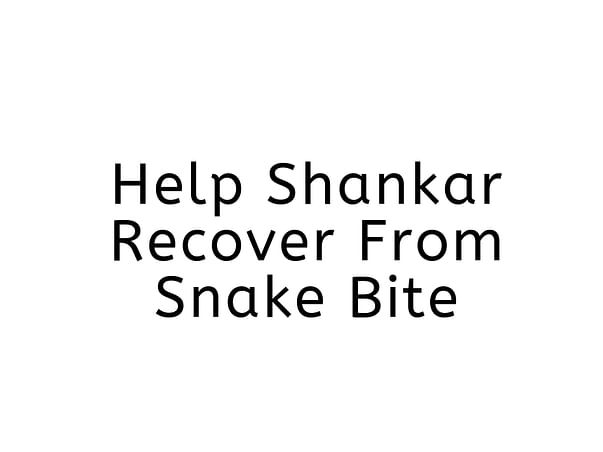 Help Shankar recover from this dangerous disease