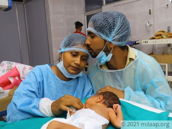 Help Anju's Premature Baby Survive