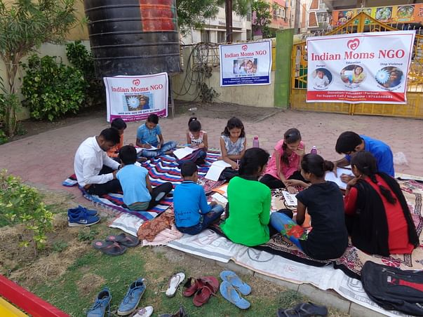Support Indian Moms NGO To Educate Kids.