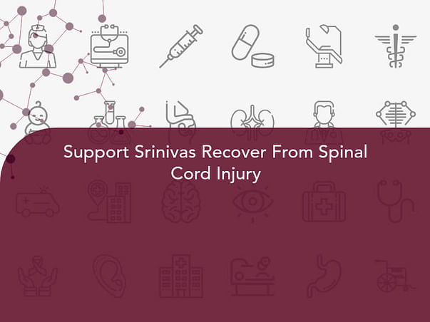 Support Srinivas Recover From Spinal Cord Injury