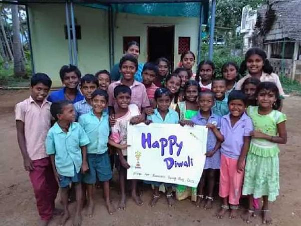 You can help poor people on the festival of Deepawali