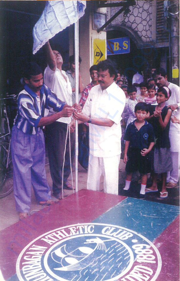 TABLE TENNIS ACADEMY OPENING BY MR. ARUP ROY ( MINISTER, GOVT OF W.B.)