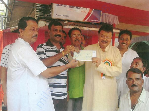 CHIEF MINISTER FLOOD RELIEF FUND DONATION