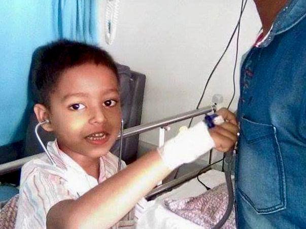 Help My Friend's Son Sunrit Das Fight Blood Cancer