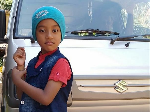 6 years Old Adhil Thomas Needs Your Help To Fight Cancer