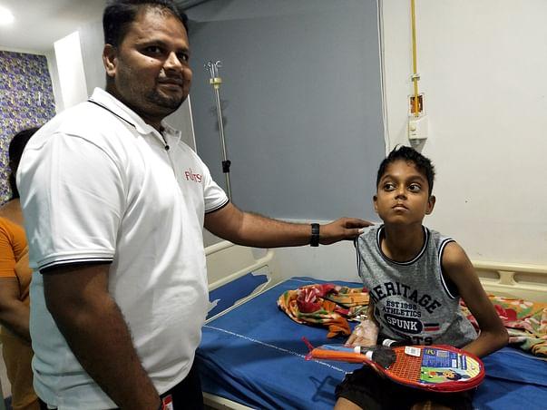 Help Phani Battle Leukemia