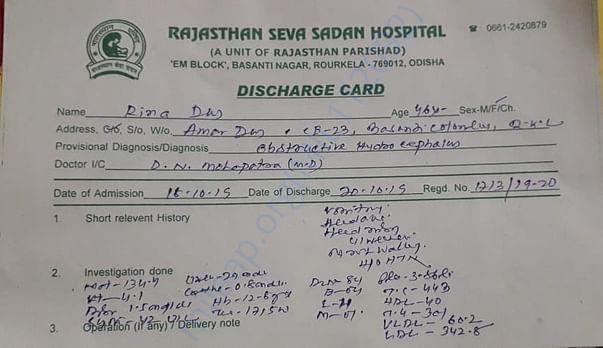Medical Diagnosis Report ( Part - 1)