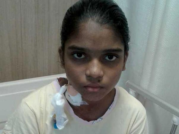 11 Years Old Maddala Naicy Needs Your Help To Fight Acute Leukemia