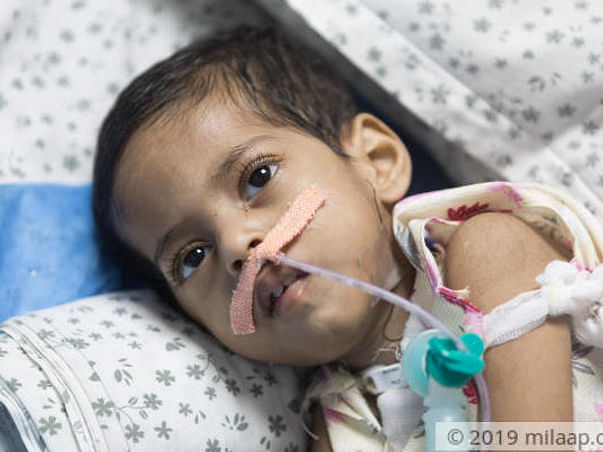 Help Charvik Reddy Recover From Severe Pneumonia