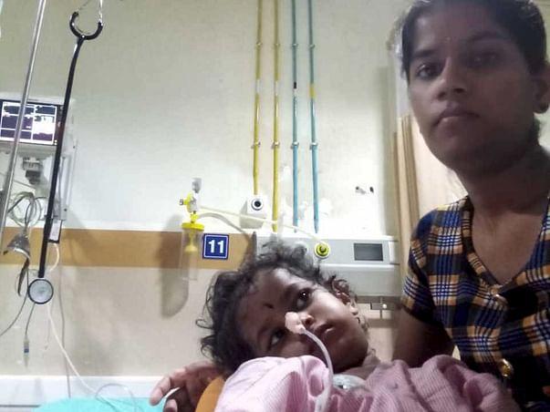 Help My Daughter Fight Bronchopneumonia