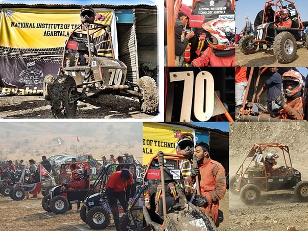 "Support Team Mech Estremo ""Make a Difference"" #BAJASAE"
