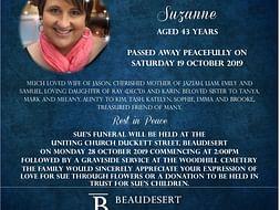 Sue Whittaker memorial fund
