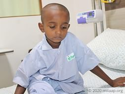 Help Mohan Fight Neuroblastoma