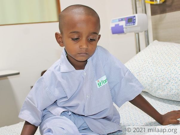 Help Mohan Fight Neuroblastoma