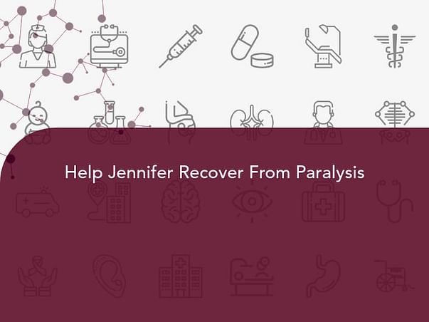Help Jennifer Recover From Paralysis