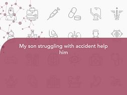 My son struggling with accident help him