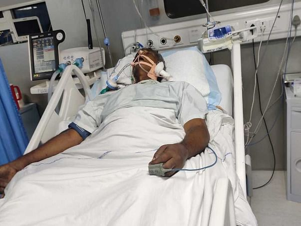 Help Ramanjuneyulu beat Brain Stroke, Paralysis, Dengue and Jaundice