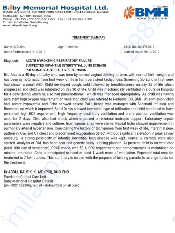 Doctor verification documents