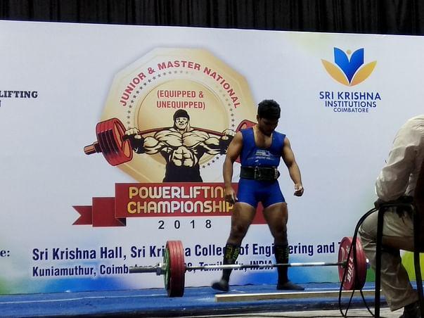 Help Harish To Represent India In Asian Powerlifting Championship