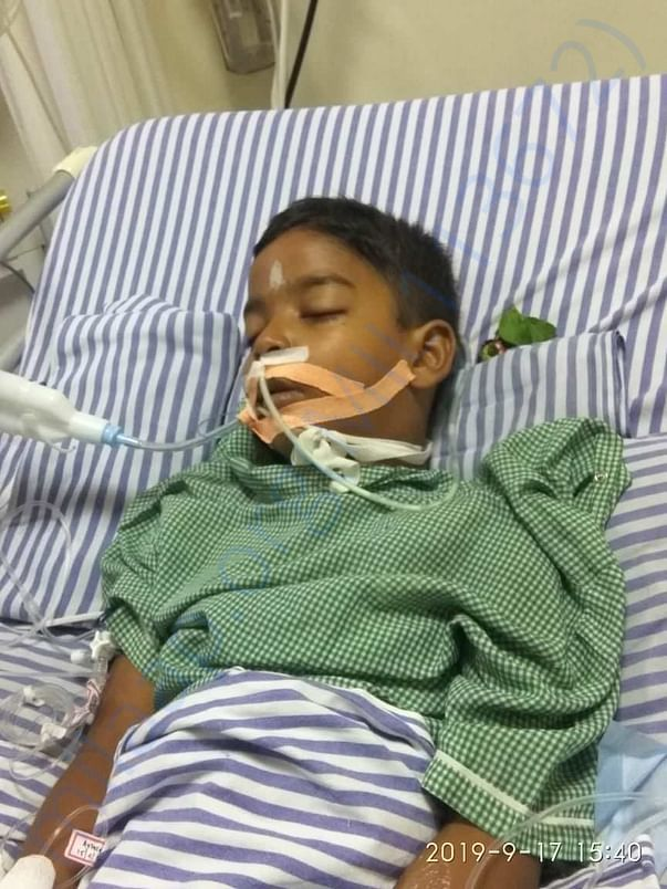 Subrat Padhiari in the ICU