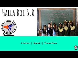 Halla Bol 5.O - A Movement To Empower