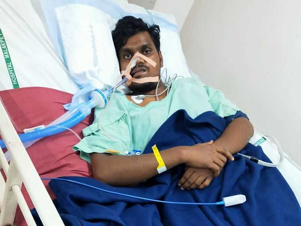 23 Years Old Vinay Kumar Needs Your Help Fight Guillain-barré Syndrome