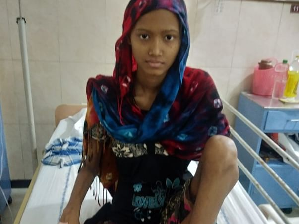 16 Years Old P H Swapna Needs Your Help To Fight Bone Cancer