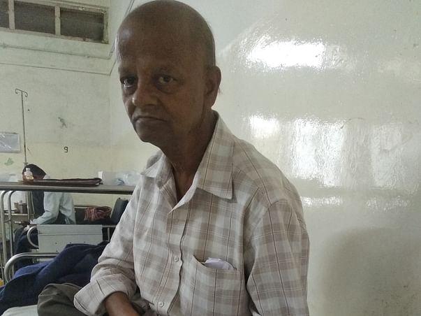 Help Shivanand Unni fight cancer