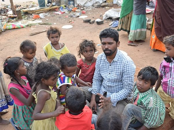 Help In Street Children Education And Get Them A School Van