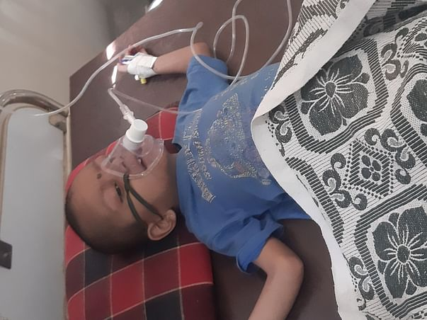 """Help 8 years old """"SAMARTH"""" to survive and live normal """"LIFE """"."""