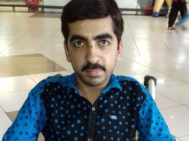 Help Mohit Khare Recover From Congenital Muscle Myopathy