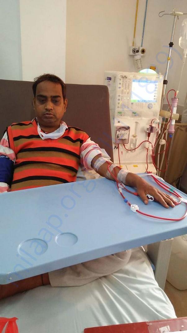 Undergoing dialysis