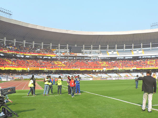 Contribute for East Bengal's Kolkata Derby Tifo