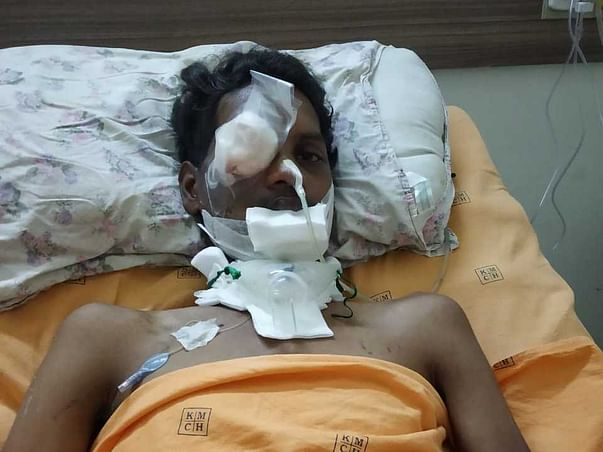 22 years old Sathya needs your help fight Head injury
