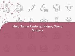 Help Samar Undergo Kidney Stone Surgery