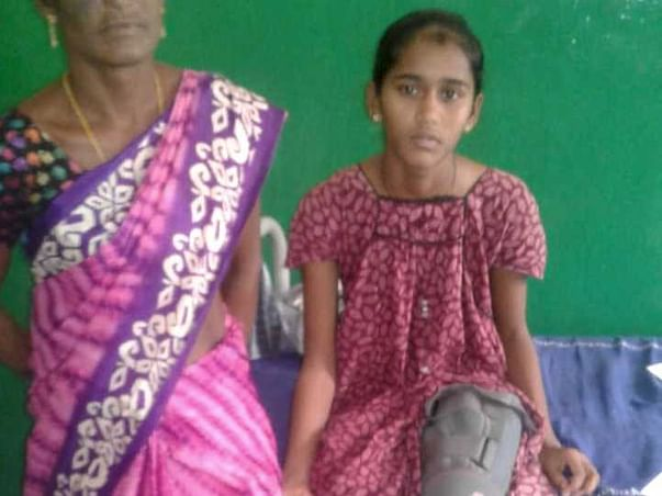 14 Year Old Nagalakshmi Needs Your Help To Fight Bone Cancer