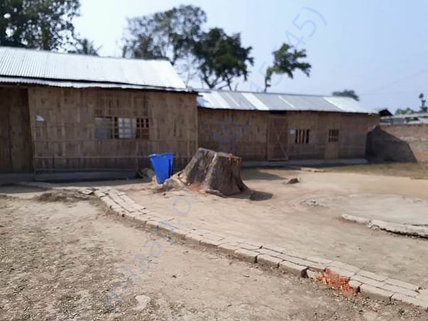 The School premises and classrooms