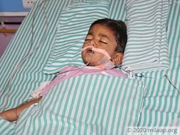 Mohammed Ayan is battling for his life in ICU and need help