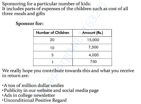 A small donation for a million dollar smile.