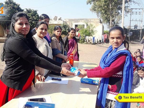 Suvidha- Sanitary Napkin Distribution Campaign