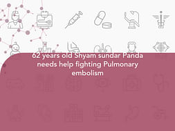 62 years old Shyam sundar Panda needs help fighting Pulmonary embolism