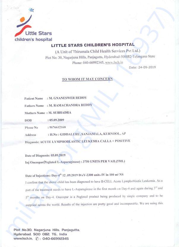 Doctor Confirmation Letter