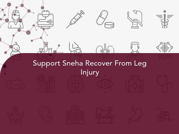 Support Sneha Recover From Leg Injury