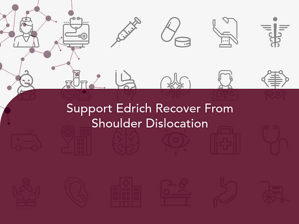 Support Edrich Recover From Shoulder Dislocation