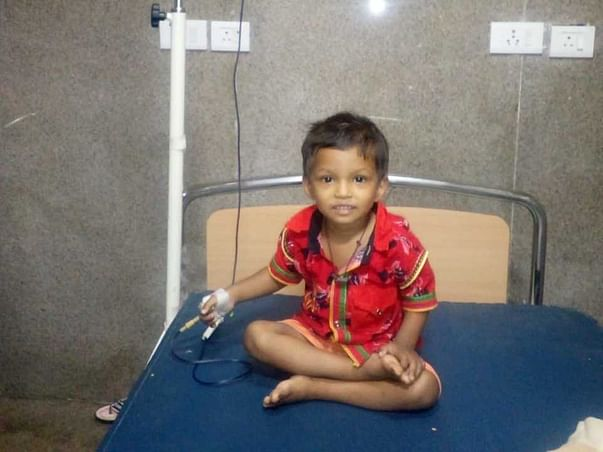 2 Years Old Bandhan Dey Needs Your Help Fight Thalassemia Major